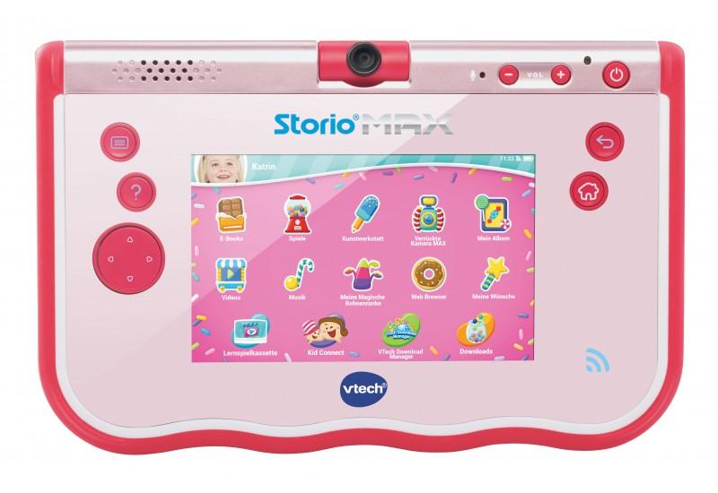 lerncomputer vtech storio max 5 pink lern tablet ab 4. Black Bedroom Furniture Sets. Home Design Ideas
